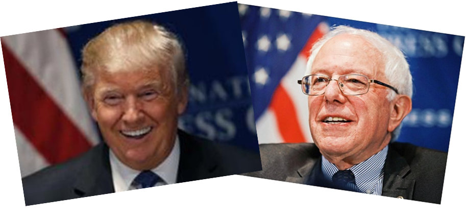 donald-j-trump-and-bernie-sanders